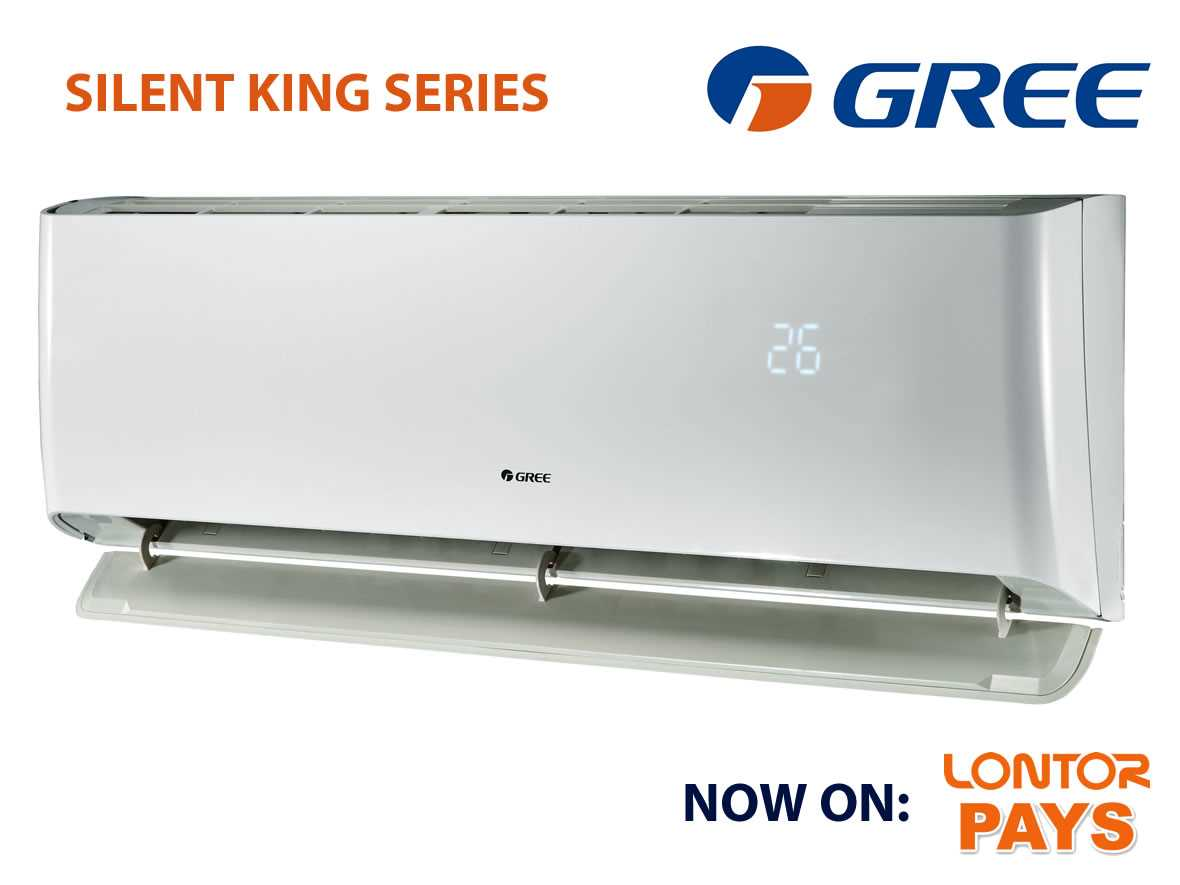 GREE SILENT KING INVERTER AC - 1HP